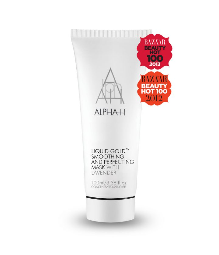 Liquid Gold Smoothing and Perfecting Mask | Alpha-H España