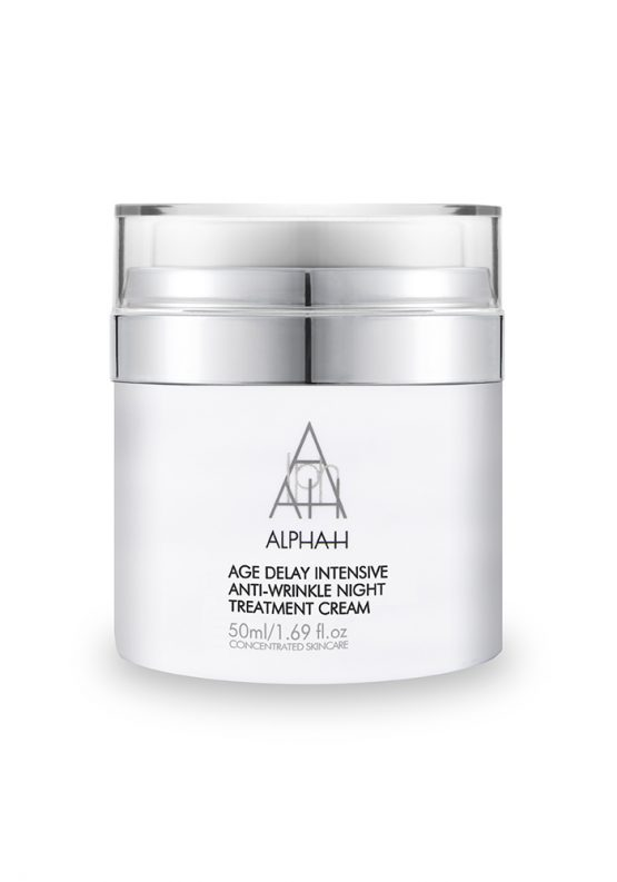 Age Delay Intensive Anti-Wrinkle Night Treatment | Alpha-H España